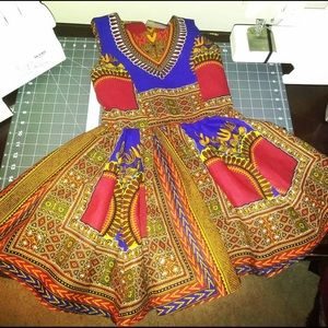 Other - African Print Dress